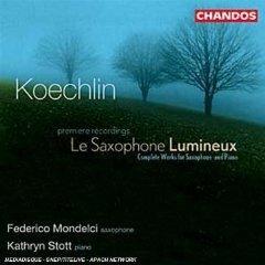 Скачать Charles Koechlin, Kathryn Stott, Federico Mondelci - Etudes for Saxophone & Piano (Le Saxophone Lumineux)